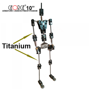 GEORGE Armature carbon fiber/titanium